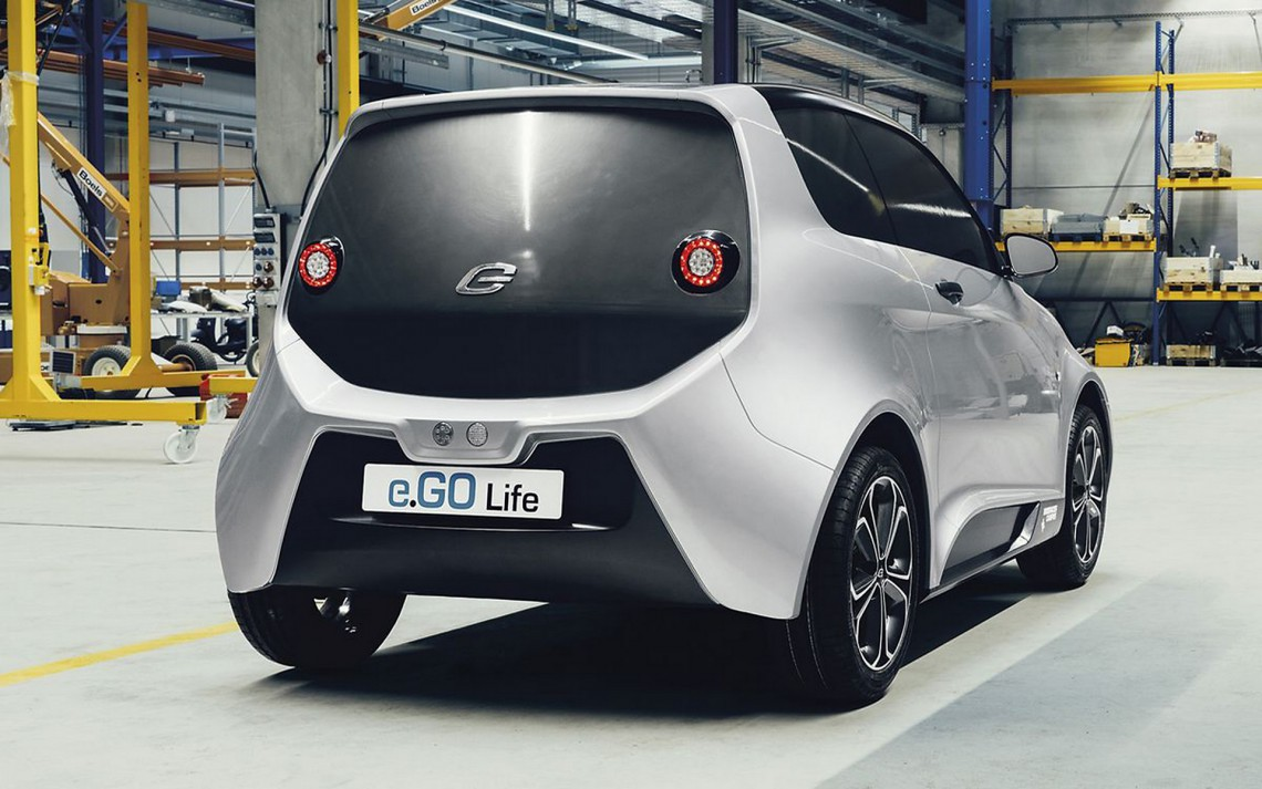 La city car tedesca e.Go Life
