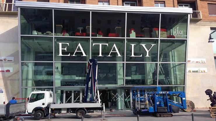 Inaugurato eataly all 39 ex teatro smeraldo milano lifegate for Creatore del piano terra del negozio