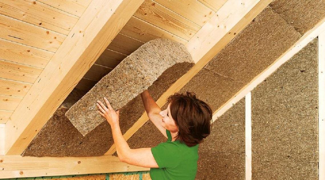 Come isolare la casa con materiali naturali lifegate - Materiale isolante termico ...