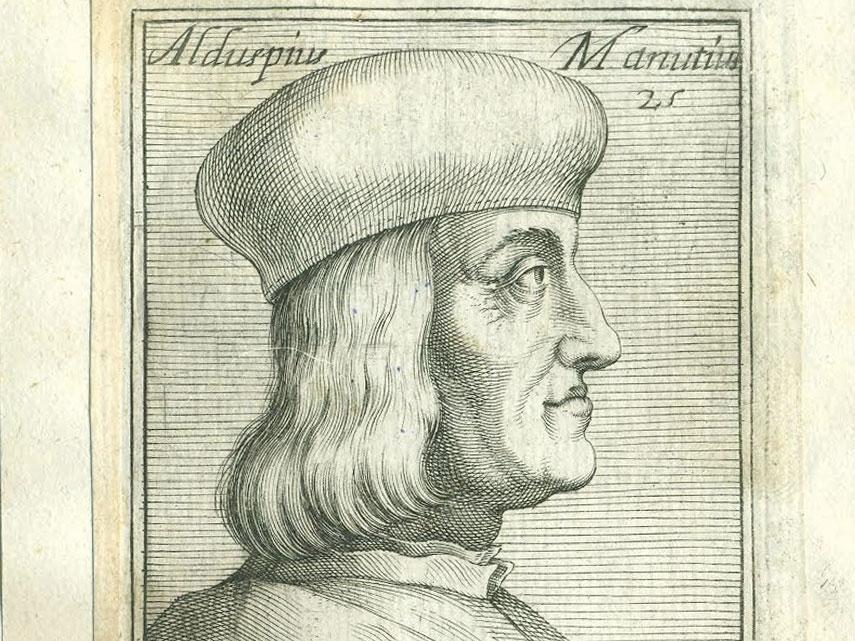 Aldo Manuzio, umanesimo