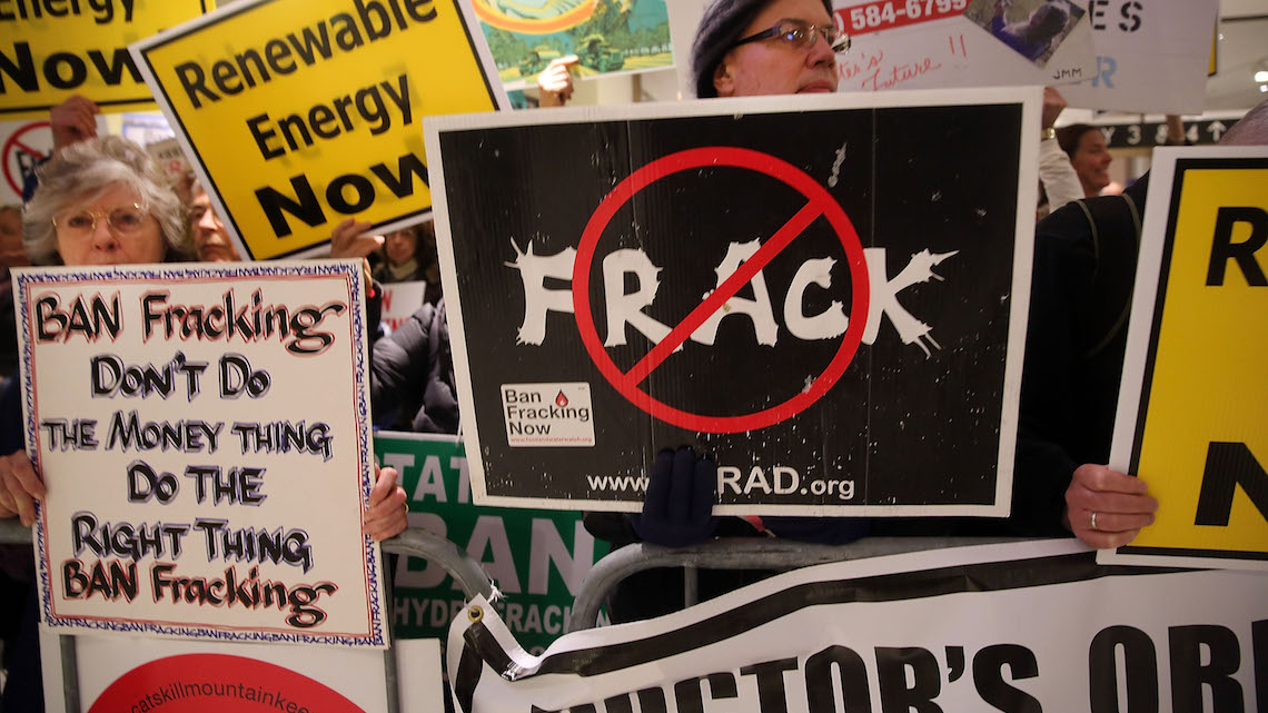 fracking petrolio gas