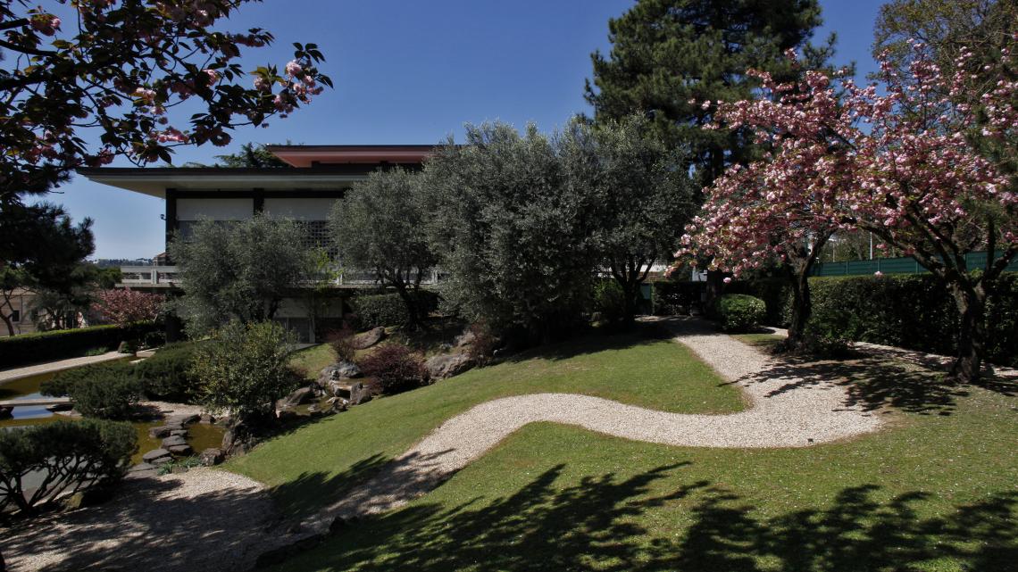 Il giardino giapponese a roma un piccolo gioiello lifegate for Giardini giapponesi milano