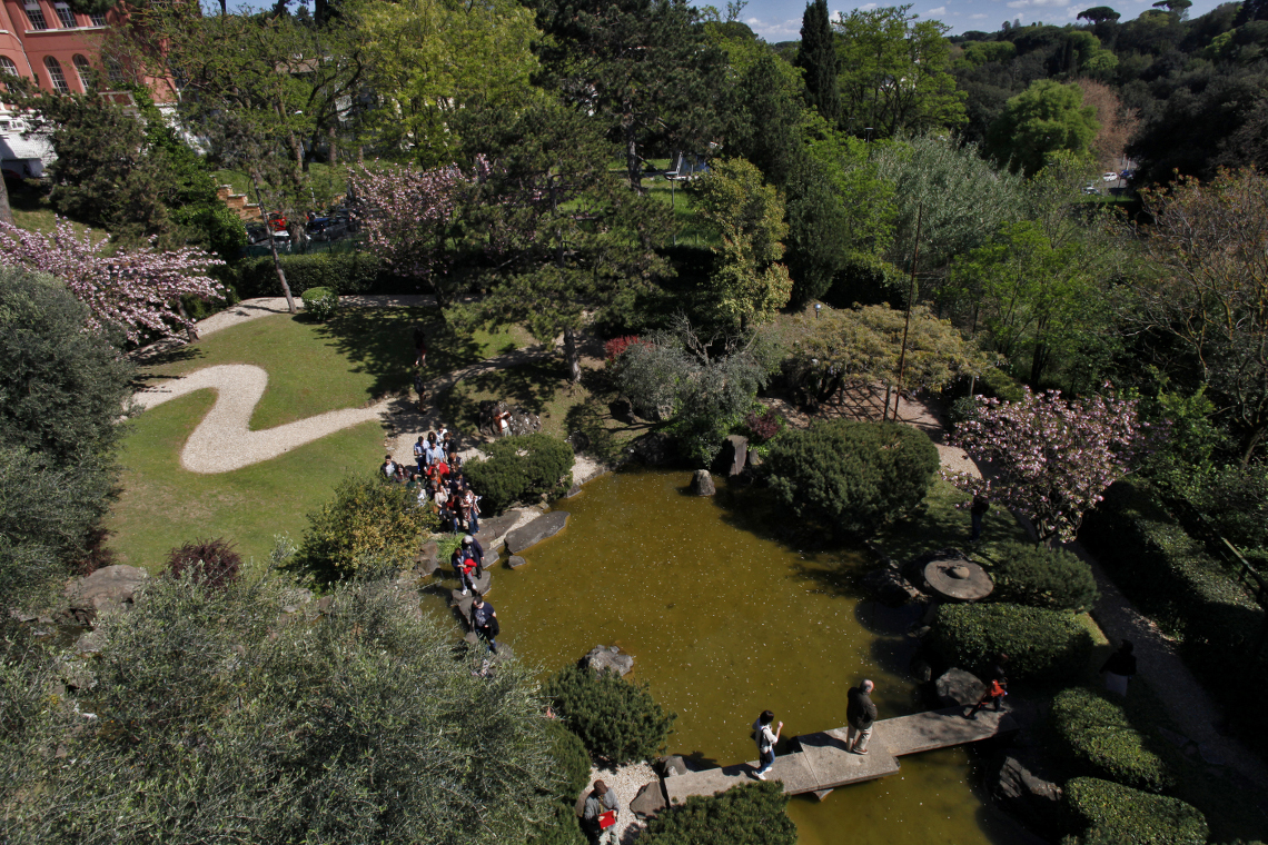 Zona relax giardino con come costruire un giardino zen - Piccolo giardino giapponese ...