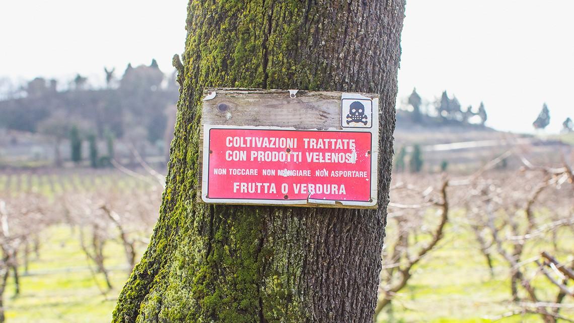 glifosato in italia