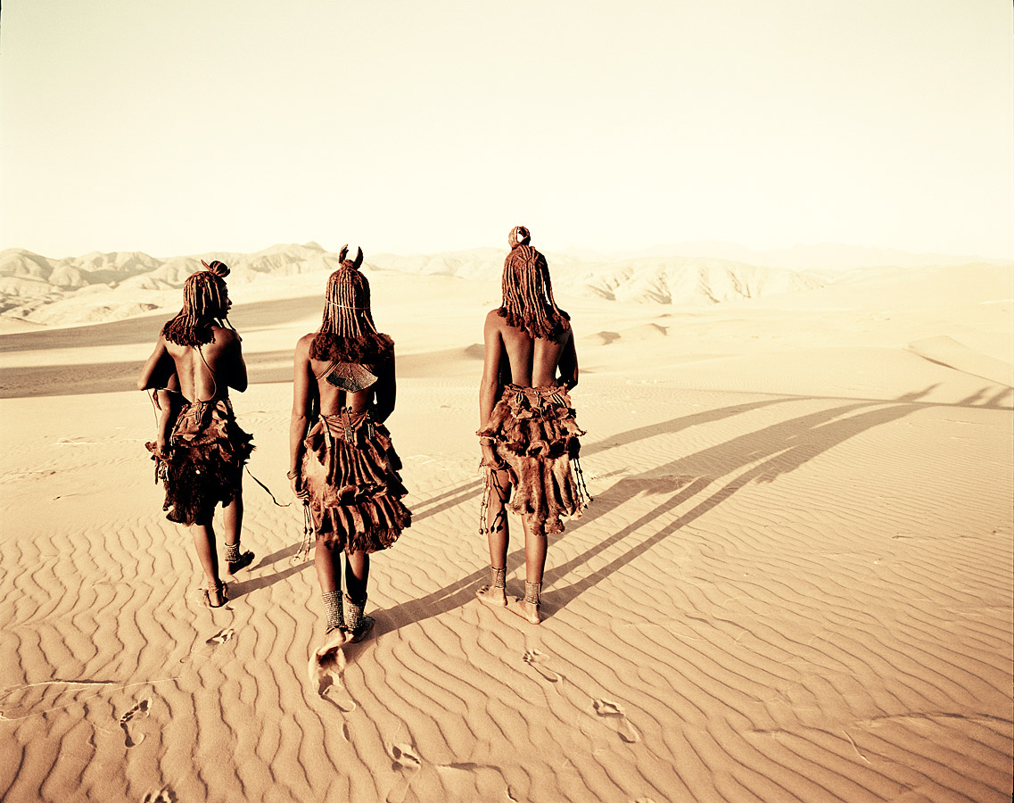 Himba. Mysterious Hartmann Valley, Namibia © Jimmy Nelson/Before They Pass Away