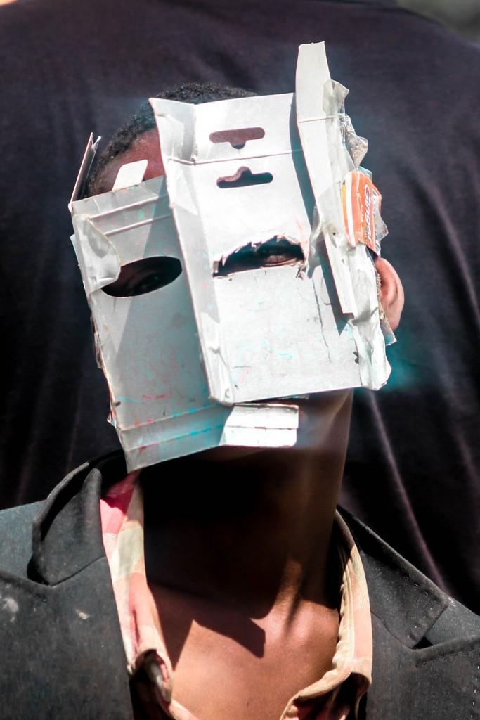 Maschera a forma di casa, Mtindwa © Cherimus