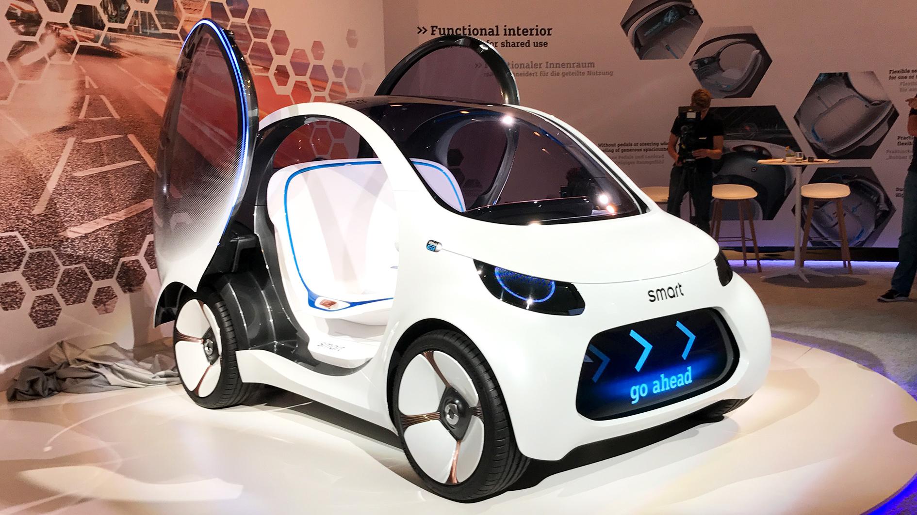 smart l 39 icona delle city car ha un futuro elettrico. Black Bedroom Furniture Sets. Home Design Ideas