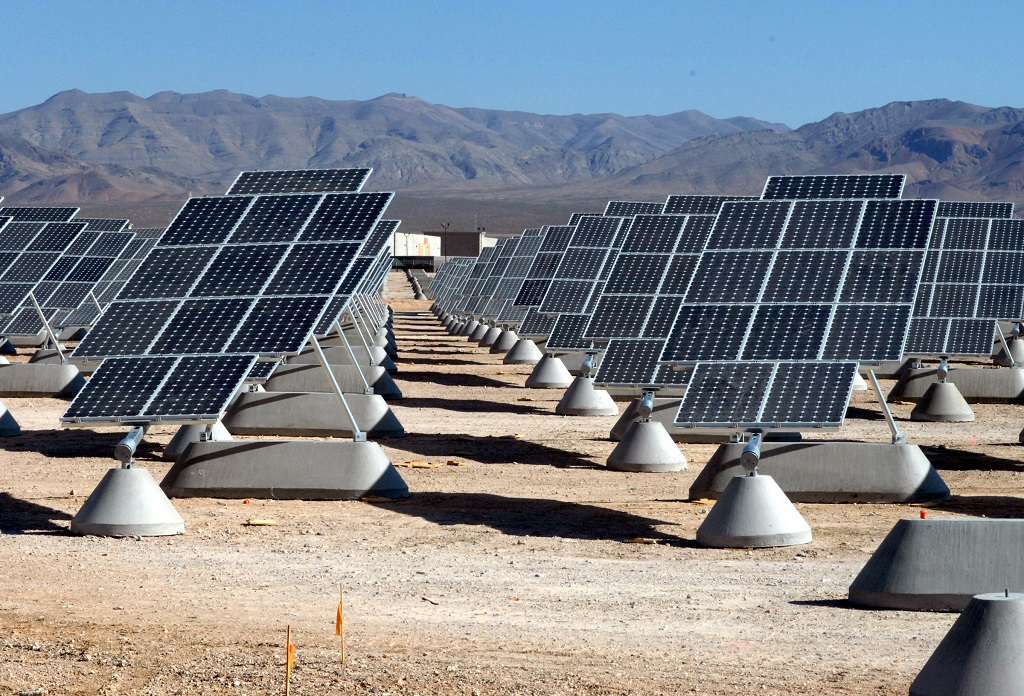 impianto solare nel desrto del gobi