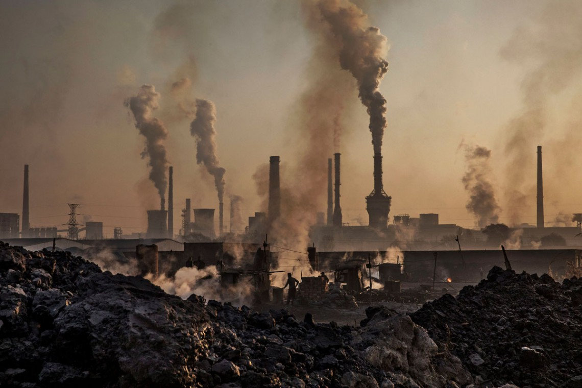 acciaieria, inquinamento, cina
