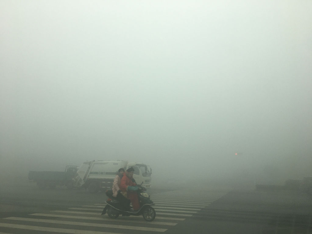 La Cina ha l'aria inquinata