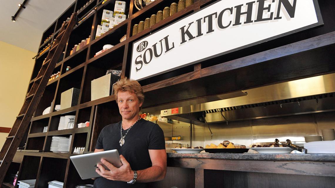 Jon Bon Jovi Soul Kitchen Menu