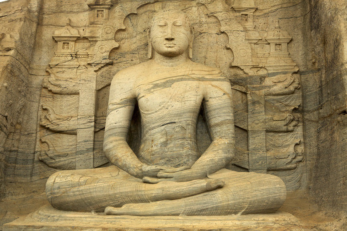 seated buddha, Sri Lanka, Asia