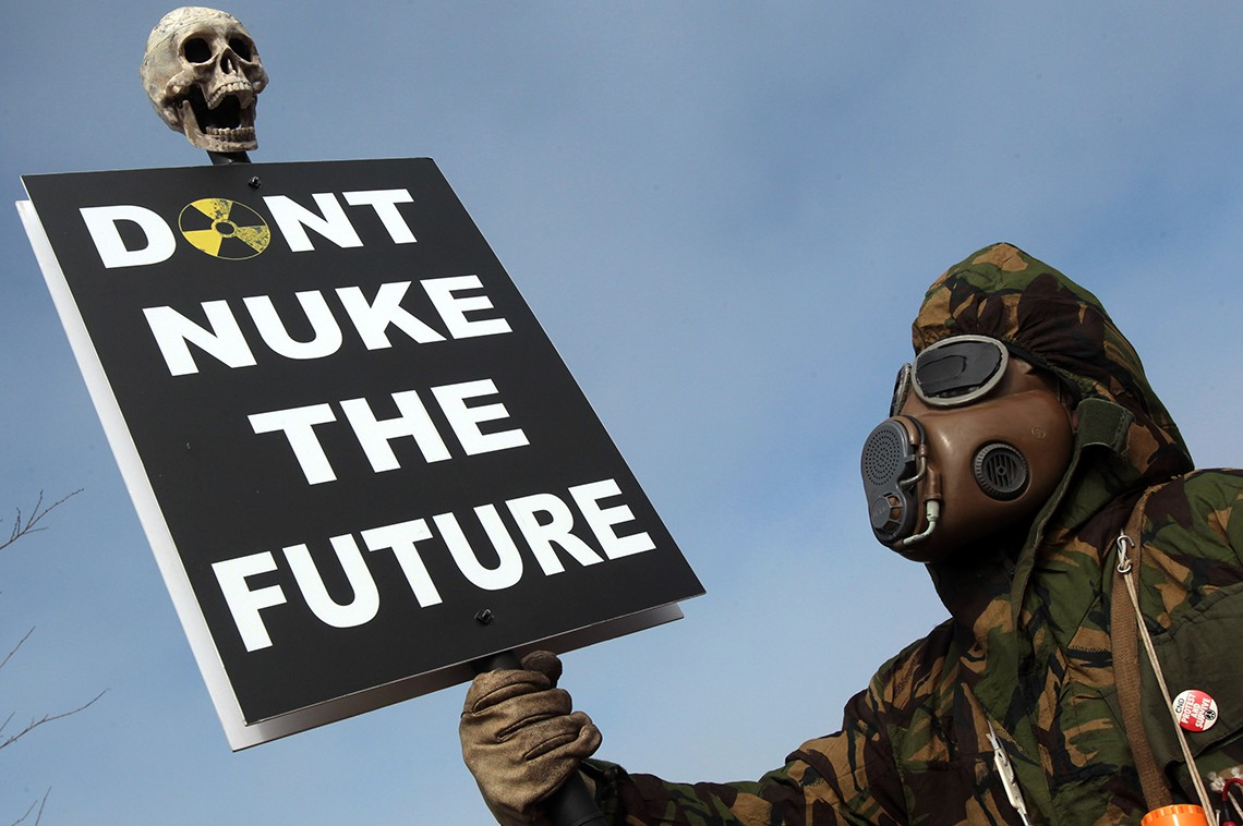 Don't nuke the future © Matt Cardy/Getty Images