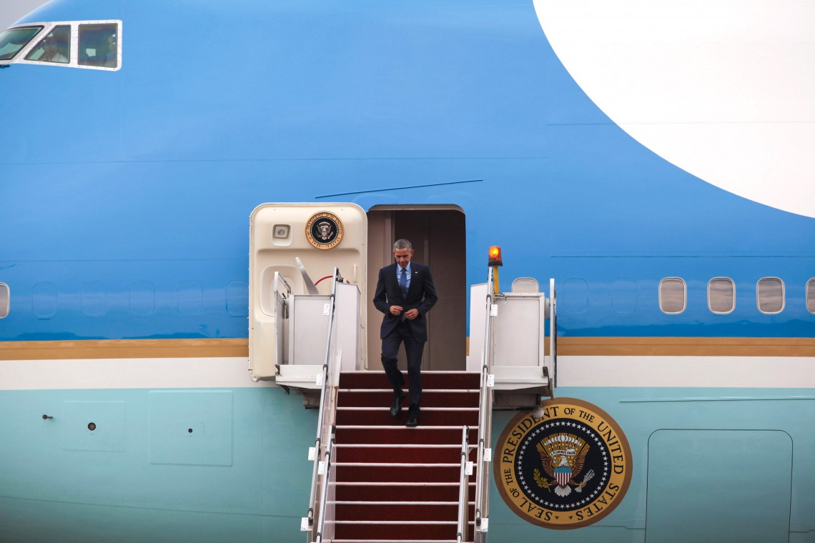 obama, air force one