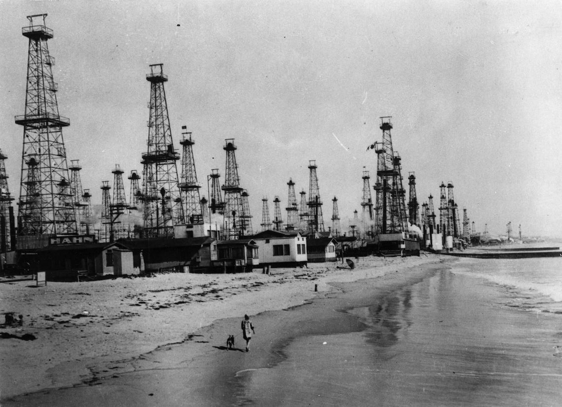 area petrolifera venice california 1920