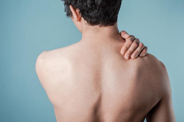 Dopo che il dolore di vita di massaggio si sviluppò