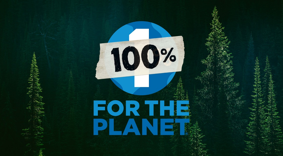 Logo dell'iniziativa di Patagonia for the planet