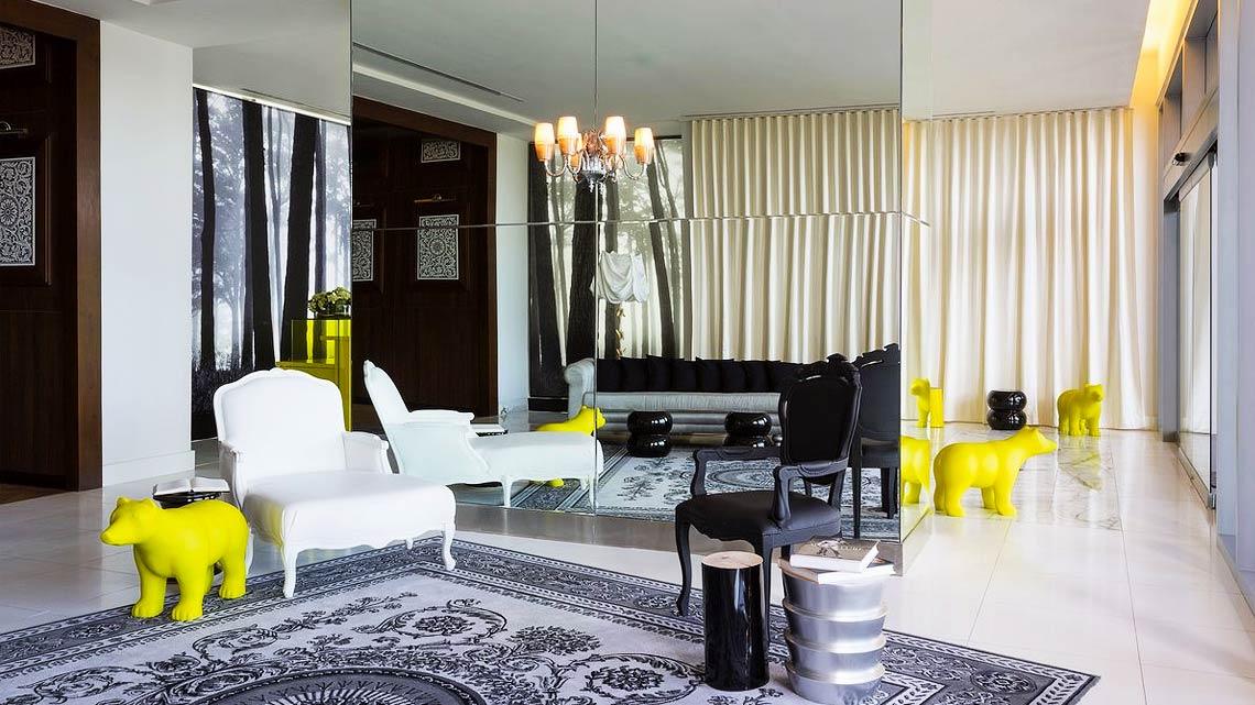 Case arredate da architetti famosi cheap case arredate da for Belle case arredate