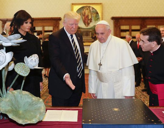 trump papa francesco