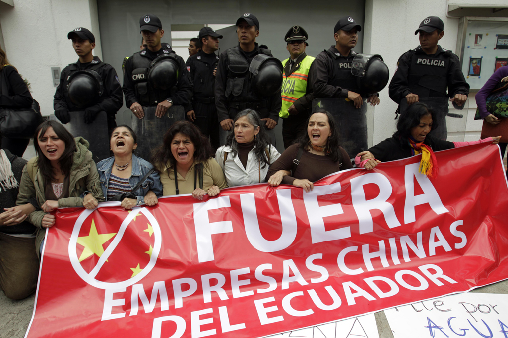Ecuador Chinas Reach Risky Business