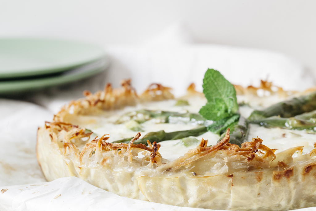 quiche asparagi base patate lifegate.it
