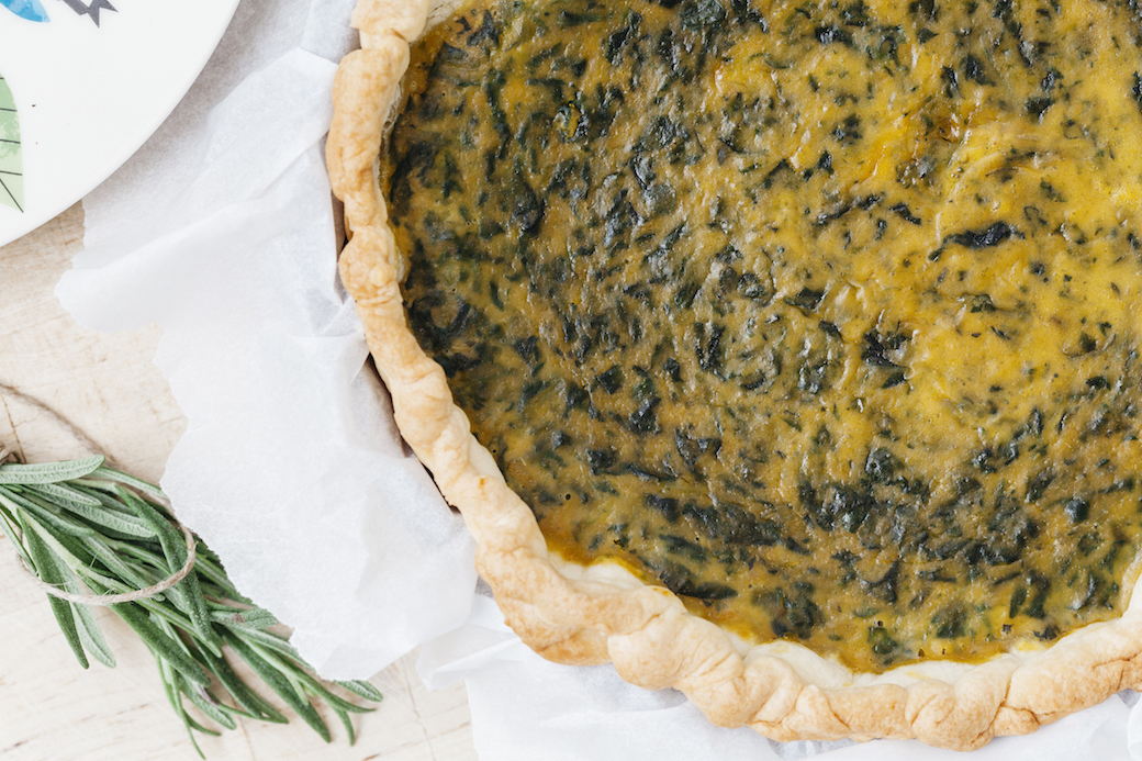 quiche zucca spinaci lifegate.it