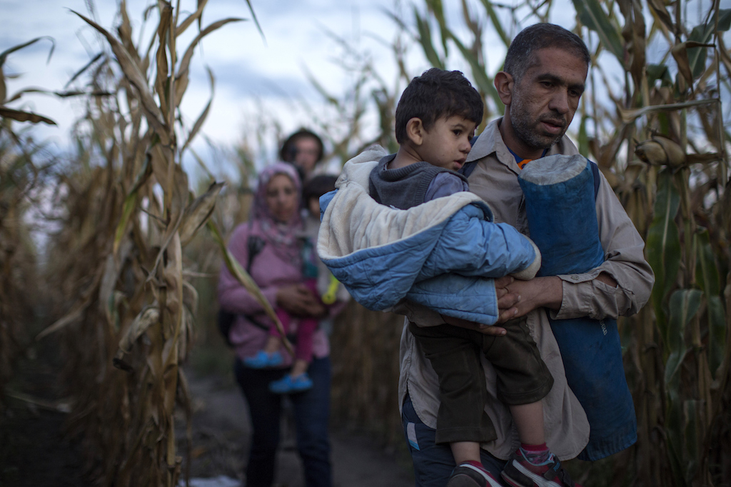 Refugees Are Smuggled Past Authorities In Hungary