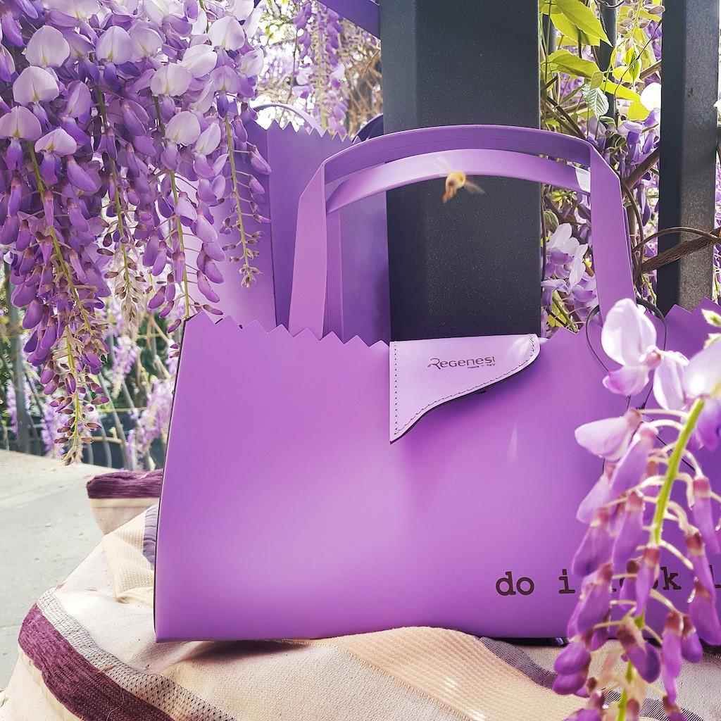 regenesi moda design Maria Silvia Pazzi borsa