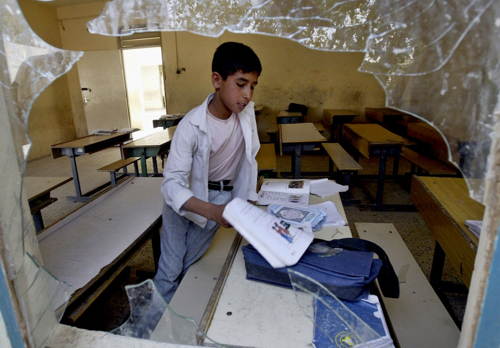 Baghdad Secondary School Targeted By Mortar Bomb