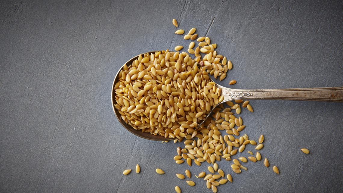acqua di semi di lino macinata a semi di lino