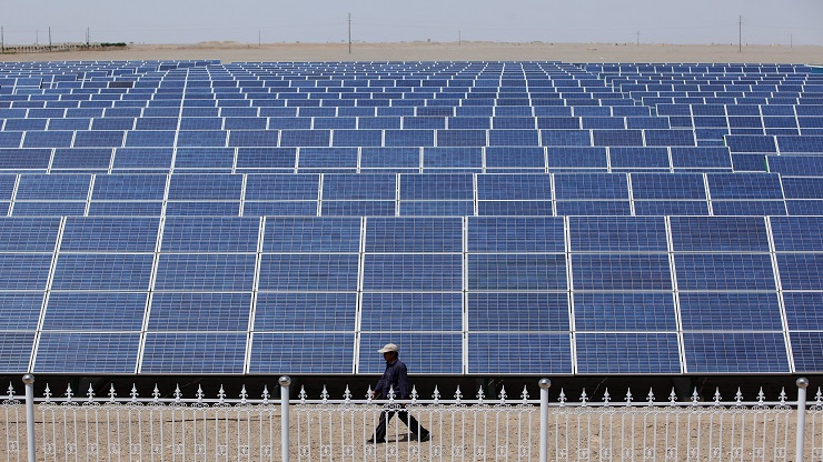China's Largest Photovoltaic On-grid Power Project Is Under Construction