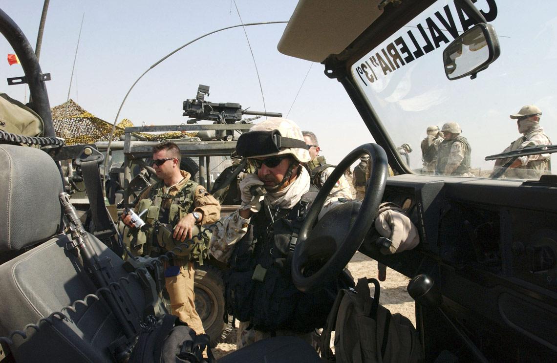 Feriti incontri militari