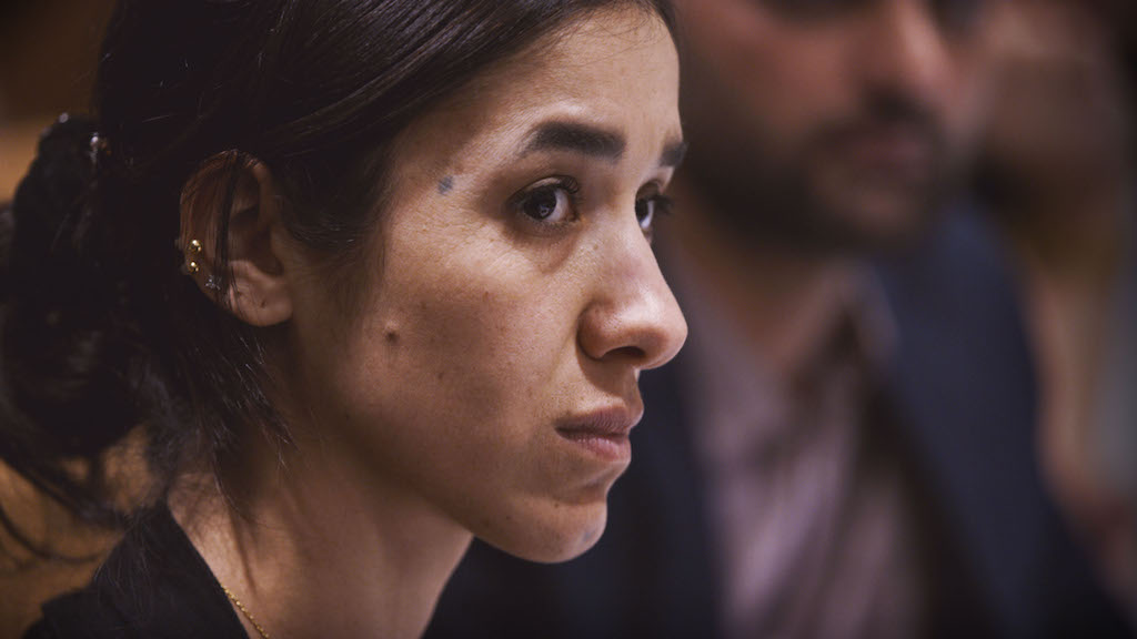 Nadia Murad documentario Sulle sue spalle on her shoulders