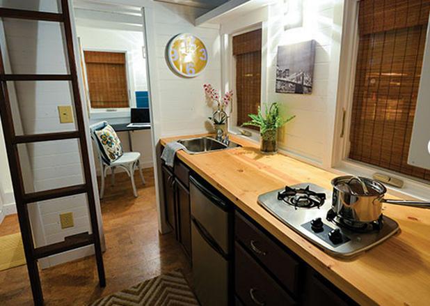 Perch sarebbe bello vivere in una tiny house lifegate for Piani di casa in stile cottage artigiano
