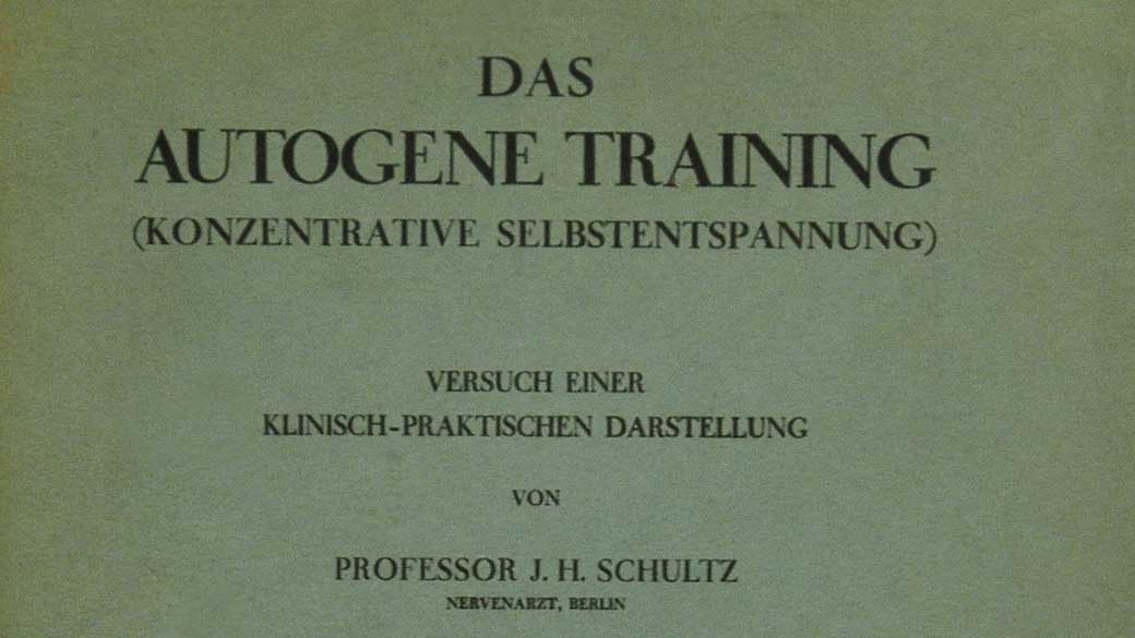 "La copertina di ""Das Autogene Training"", il primo libro sul Training Autogeno. ©Wikimedia"