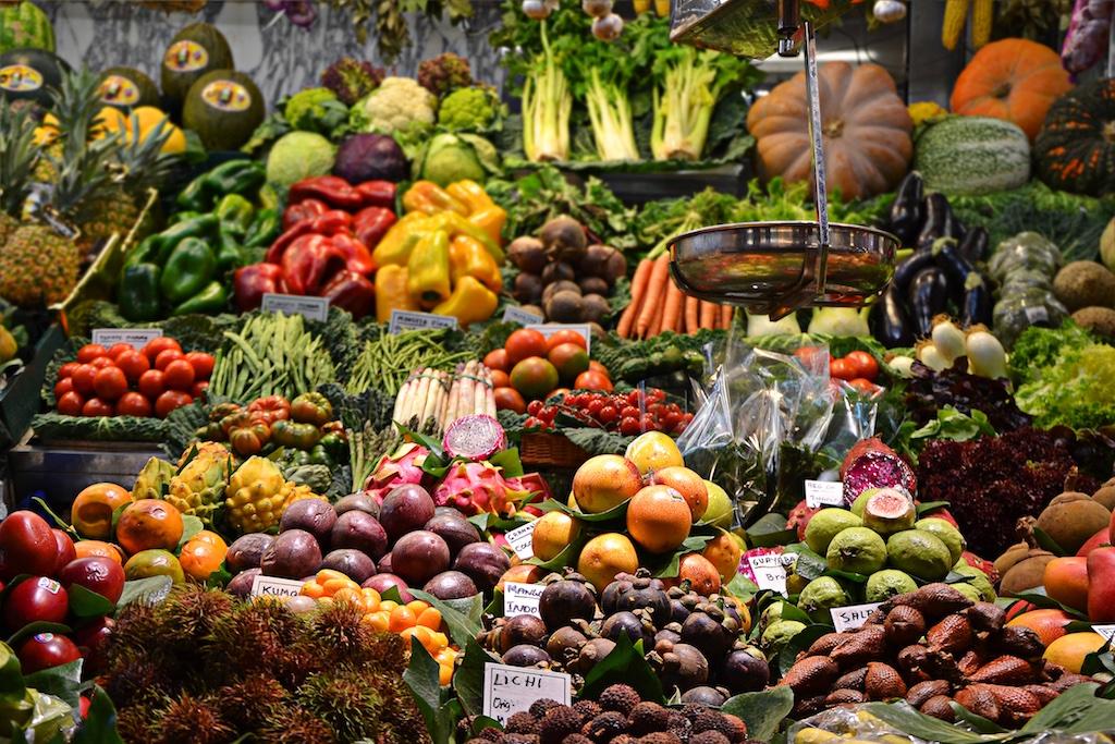 Un piacere selvaggio torniamo alla frutta e verdura delle - Immagine di frutta e verdura ...