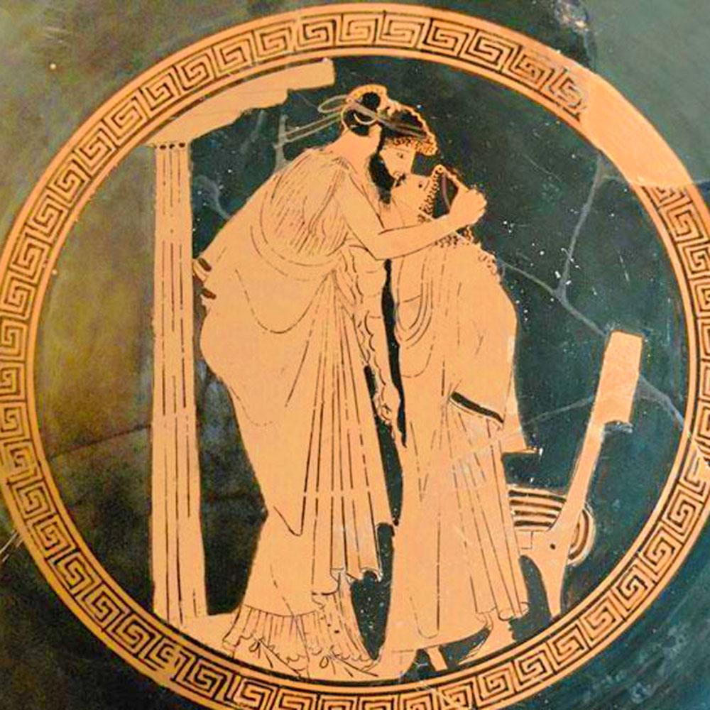 Figura rossa Attica, 480 a.C.
