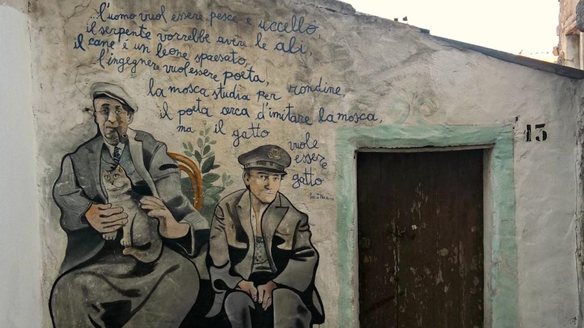 Murales di Orgosolo (fonte: www.lifegate.it)
